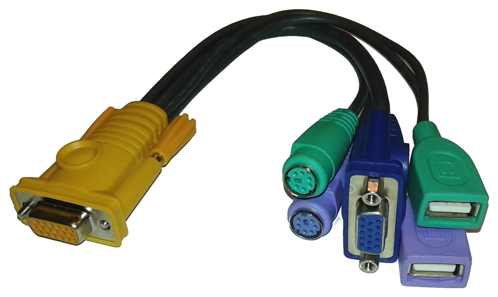 LIN5-27X6-U21G 5 in 1 console cable
