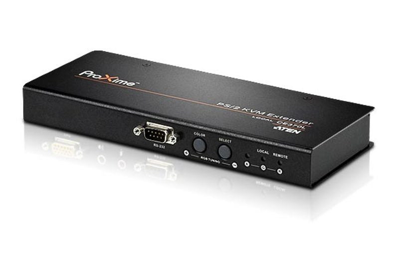 PS/2 VGA/Audio Cat 5 KVM Extender with Deskew (1280 x 1024@300m) - CE370
