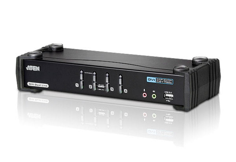 CS1784A - 4-Port USB DVI Dual Link/Audio KVMP™ Switch