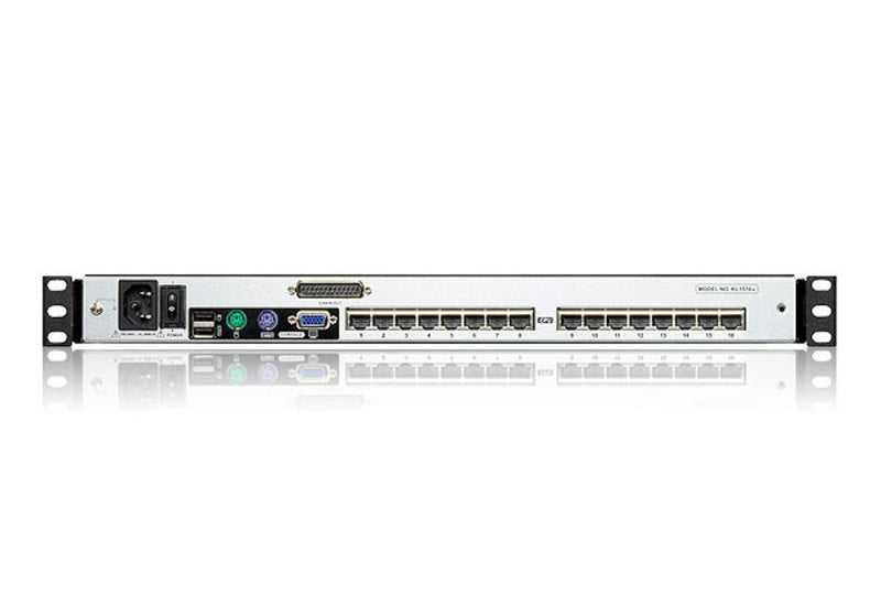FINAL SALE: 16-Port Dual Rail 19in. CAT5 LCD KVM - KL1516AN - Class B