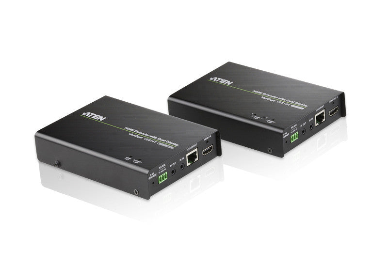HDMI HDBaseT Extender with Dual Output (4K@100m)  (HDBaseT Class A) - VE814