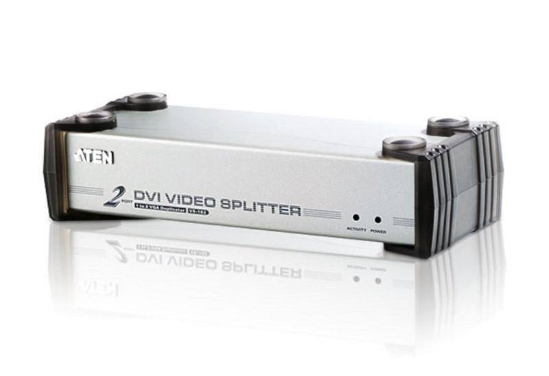 FINAL SALE: 2-Port DVI/Audio Splitter - VS162 - Class A