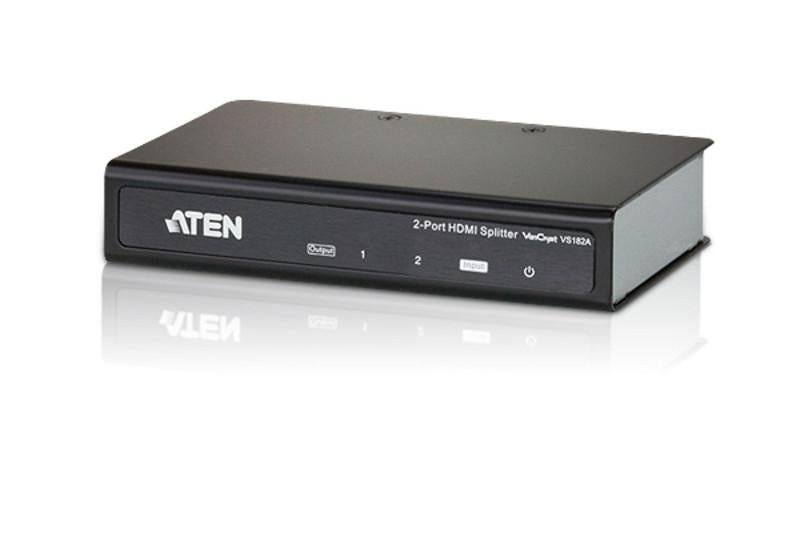FINAL SALE: 2-Port 4K HDMI Splitter - VS182A - Class A