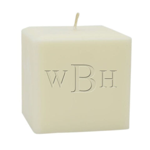 Soy Candle - Full Monogram