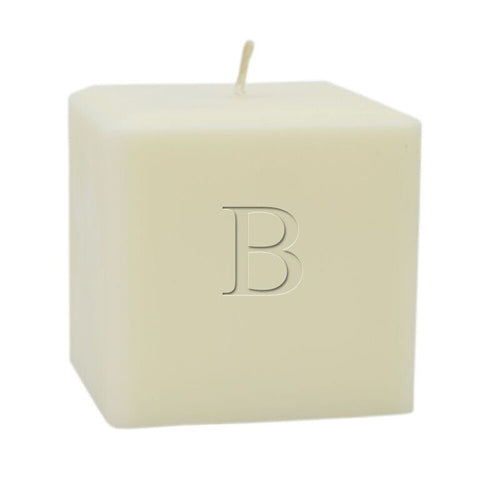 Soy Candle - Single Initial