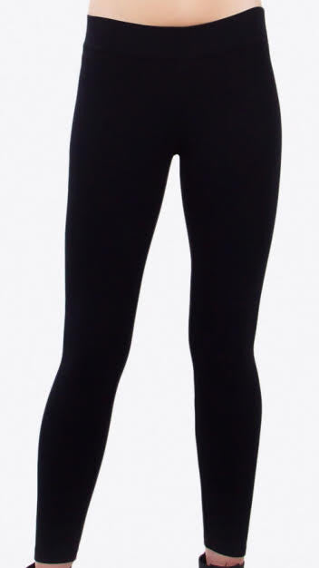 Ponte Leggings - Black