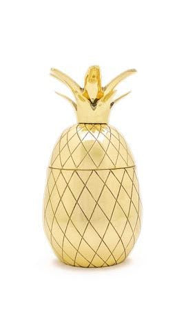 Pineapple Tumbler - Gold