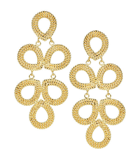 Ginger Earrings - Gold