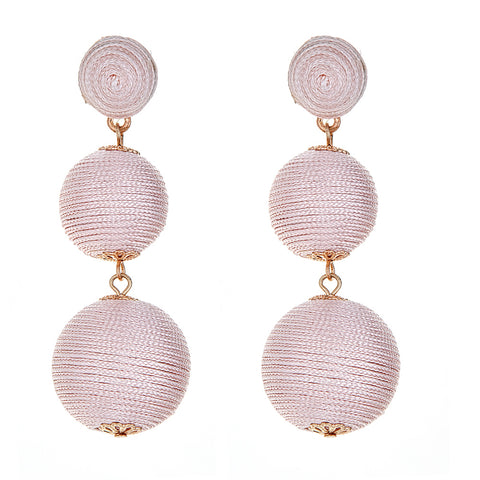 Wells Earrings - Blush