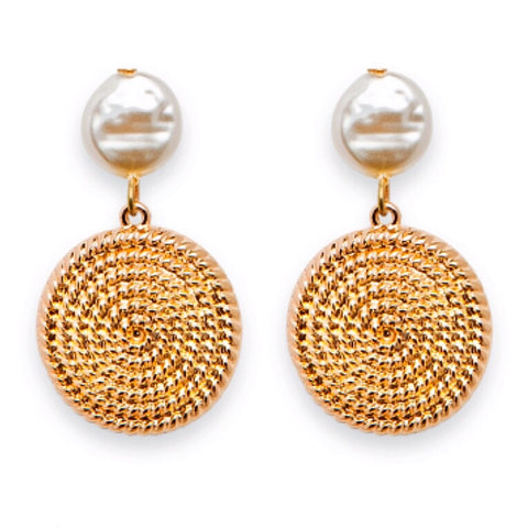 Ahoy Earrings - Gold