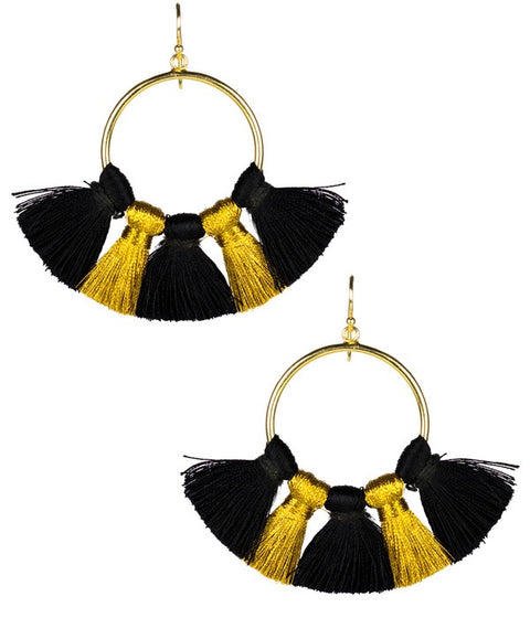 Izzy Earrings - Who Dat