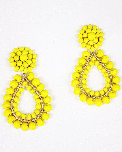 Margo Earring - Lemon