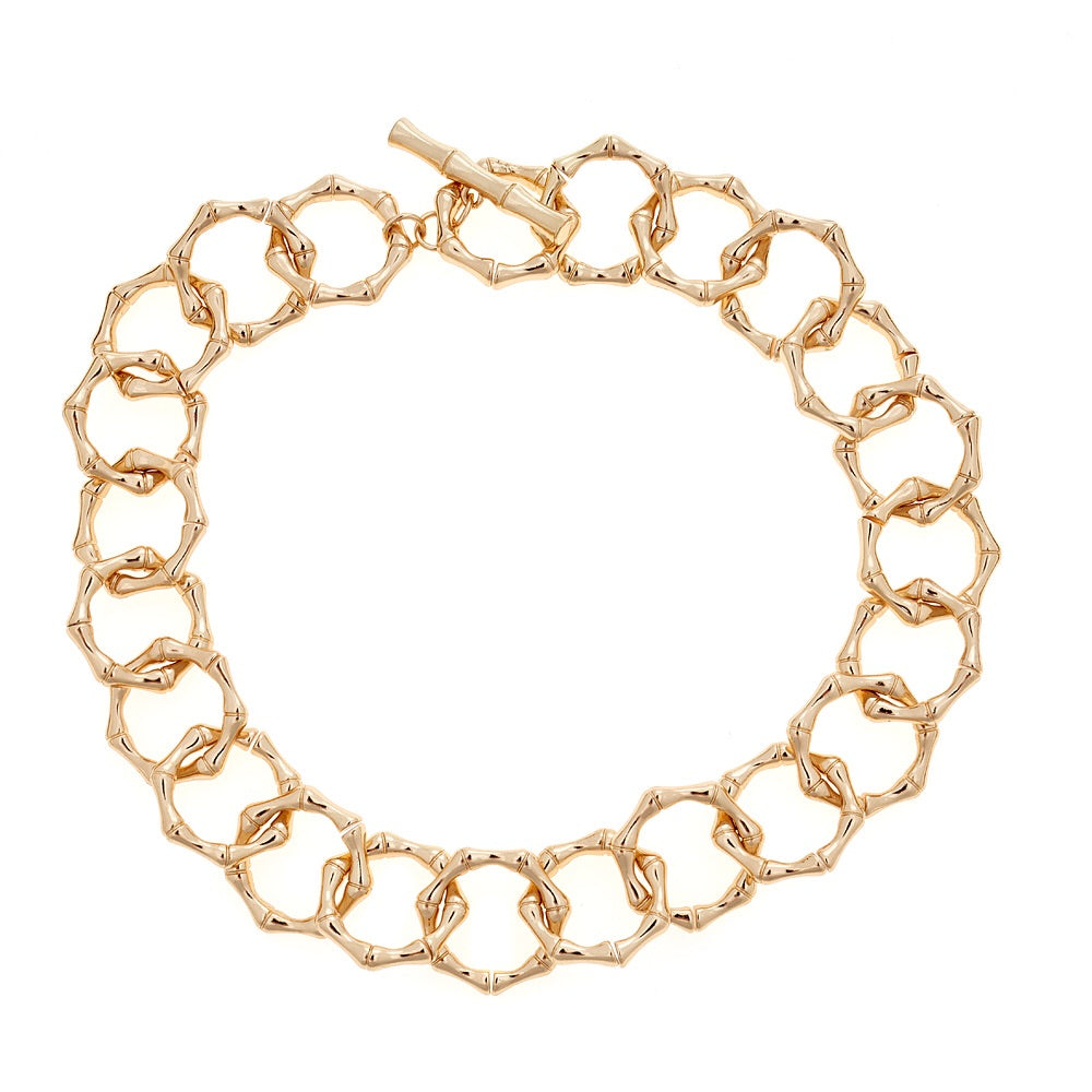 Jillian Necklace - Gold