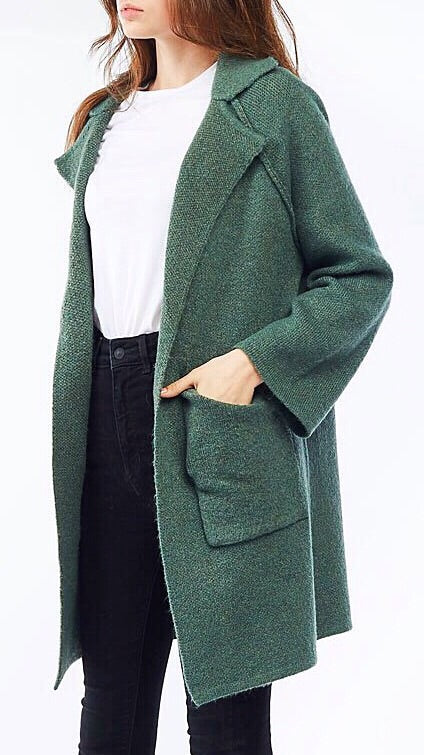 Pocket Cardi - Green