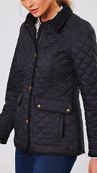Newdale Quilted Jacket - True Black
