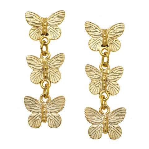 Butterfly Drops - Gold