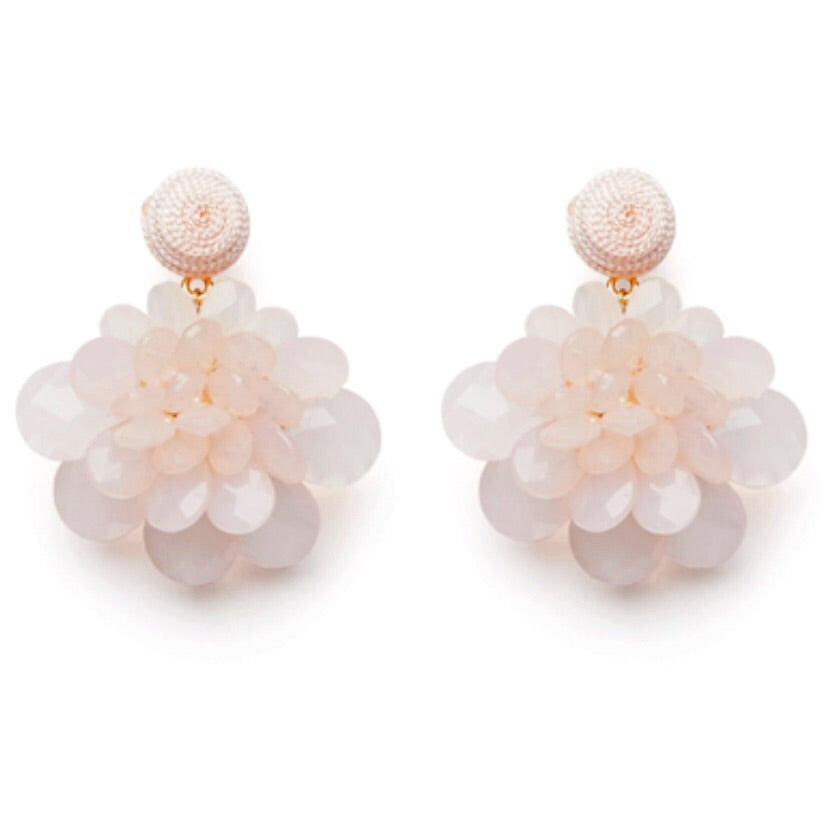 Duchess Earrings - Blush