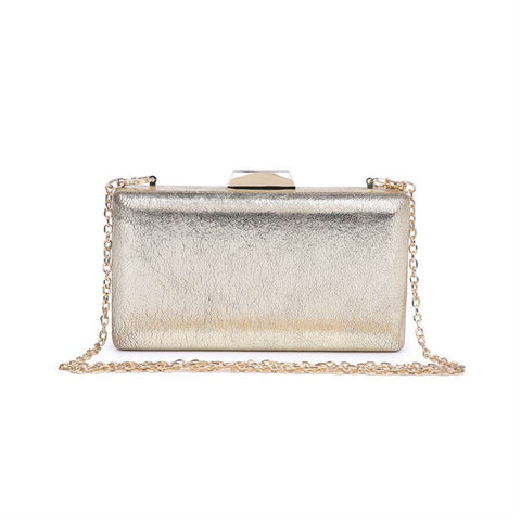 Flora Cocktail Clutch - Gold