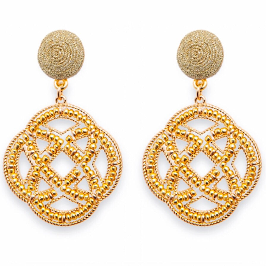 Westwood Earrings - Gold