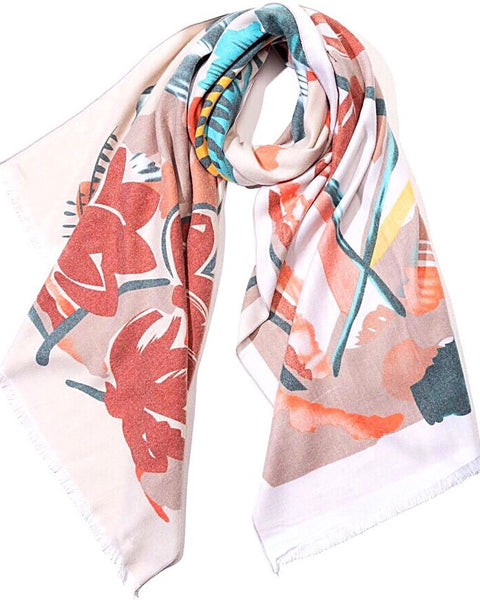 Monet Scarf - Multi Floral *PRE-ORDER*