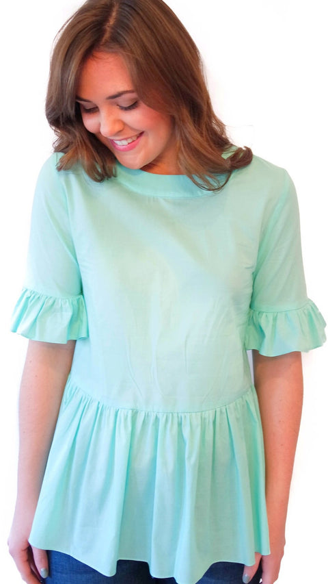 Betty B Top - Mint