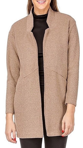 Marnie Open Coat - Acorn