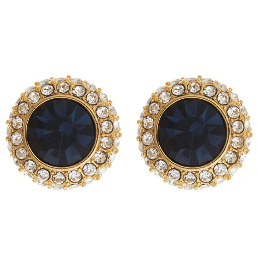 Hope Earrings - Navy