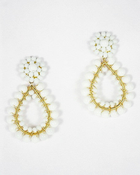 Margo Earring - White