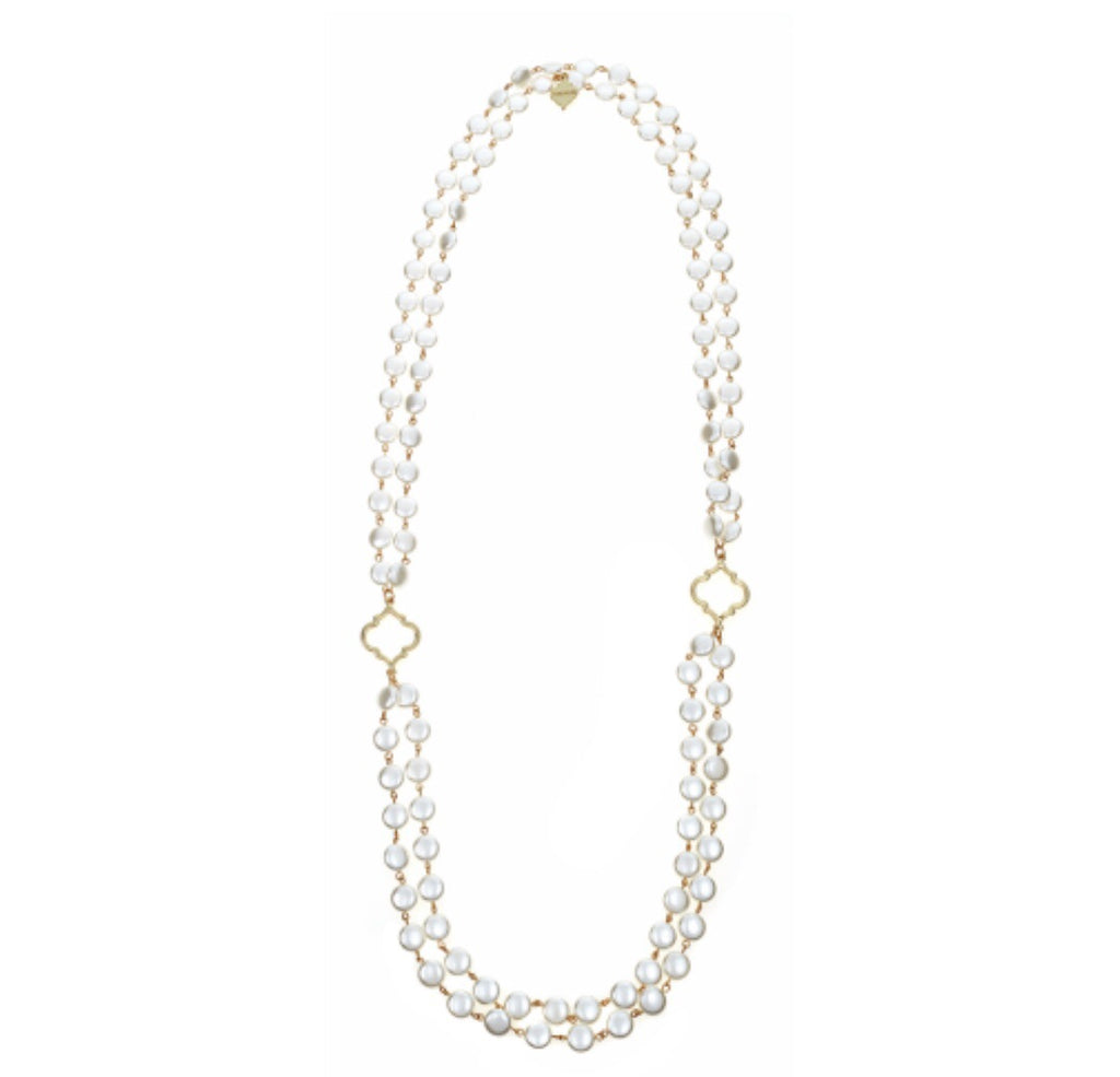 Stella Necklace - Pearl