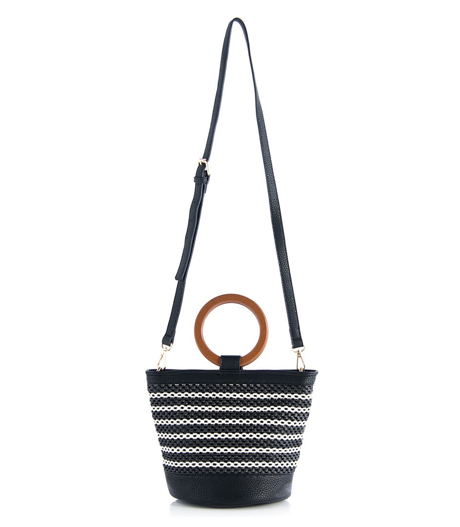 Bimba Bucket Bag - Black