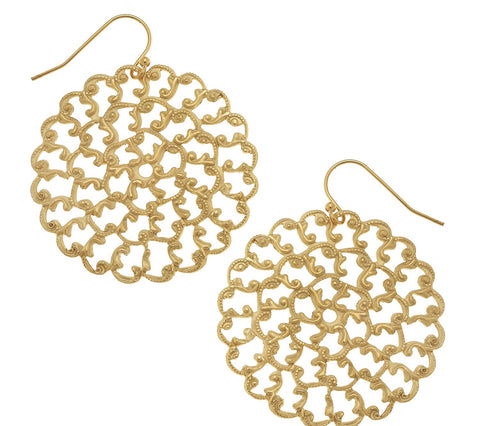 Filigree Drops - Gold