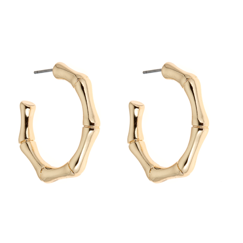 Hilton Earrings - Gold