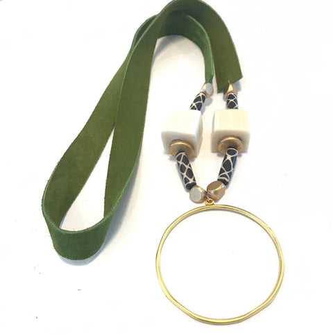 Argonne Necklace - Green