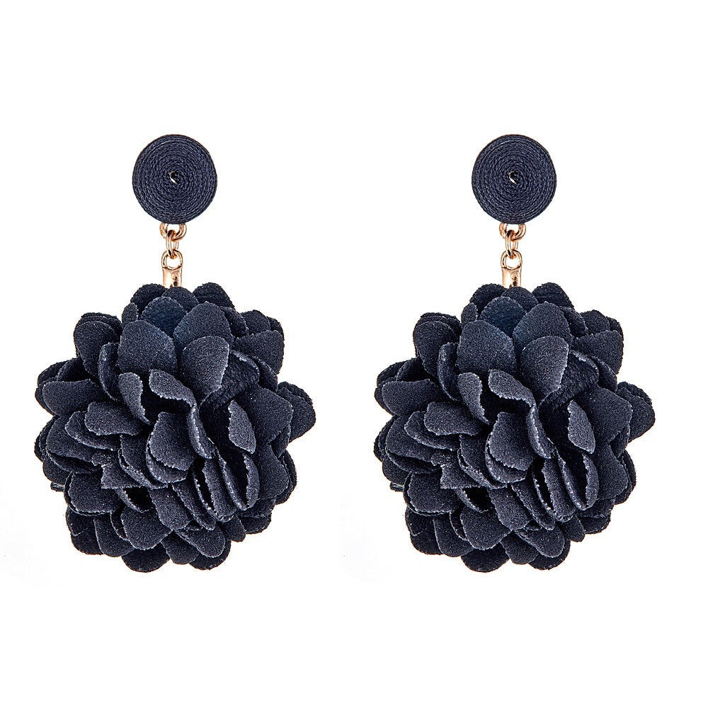 Farrah Earrings - Black