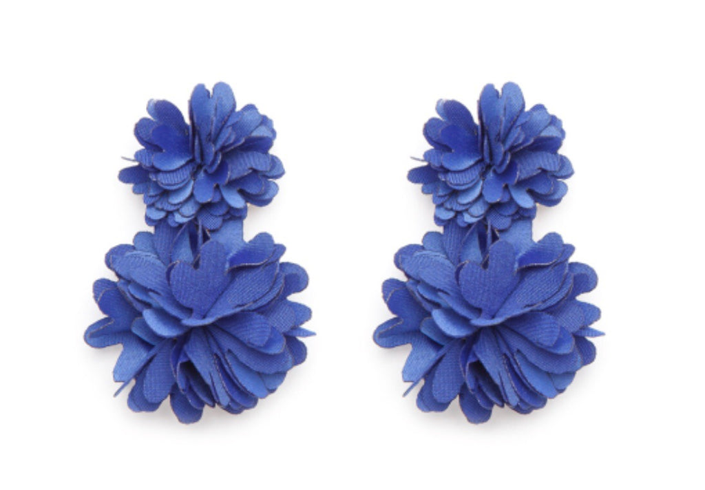 Holland Earrings - Cobalt