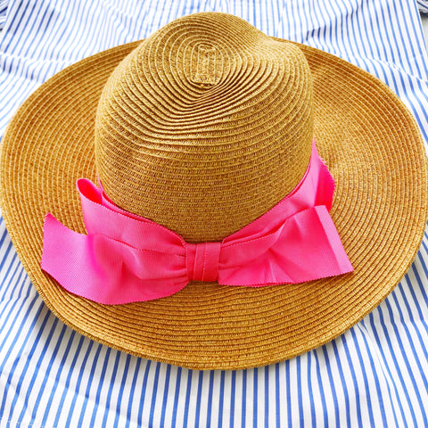 The Hamptons Hat - Pink