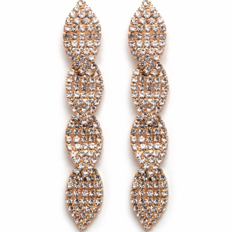 Glitz Earrings - Gold