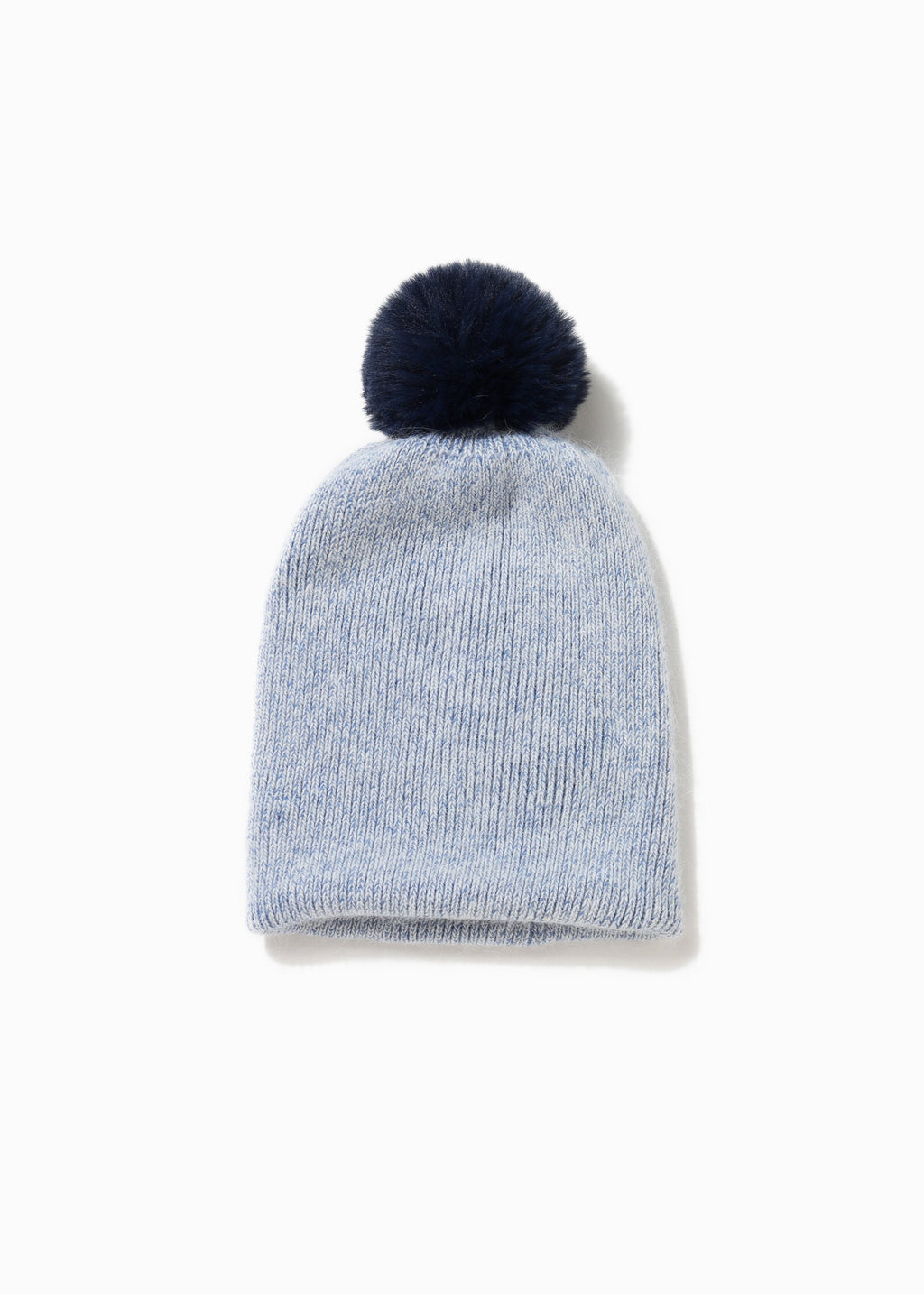 2-in-1 Scarf Hat Combo - Blue