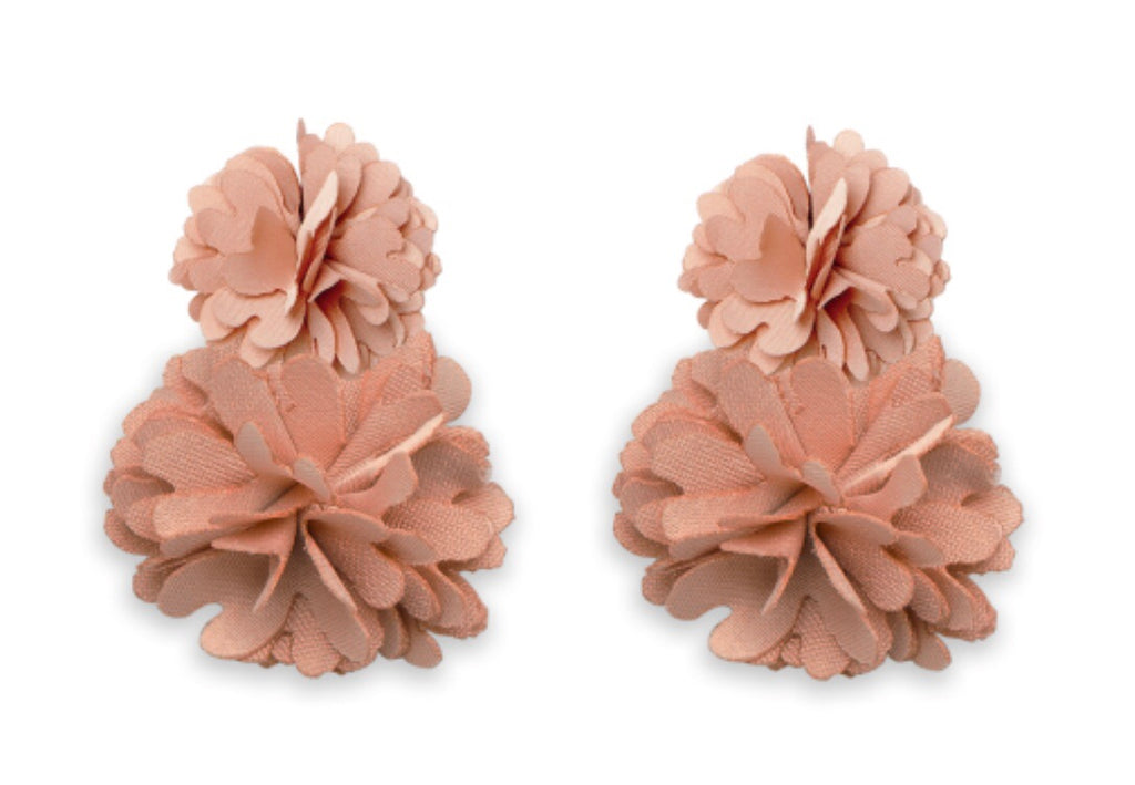Holland Earrings - Taupe