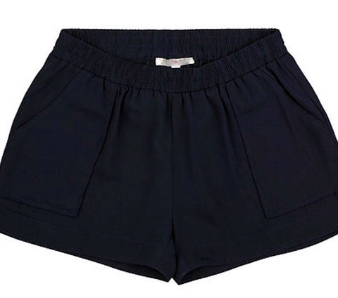 Pocketed Easy Shorts - Navy