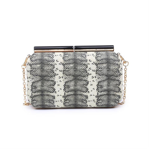 Meghan Cocktail Clutch - White *PRE-ORDER*