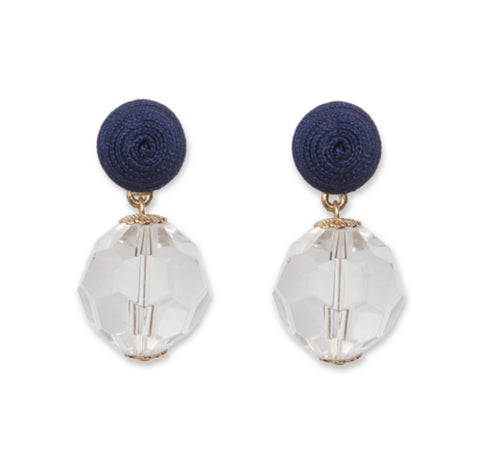 Tobi Earrings - Navy