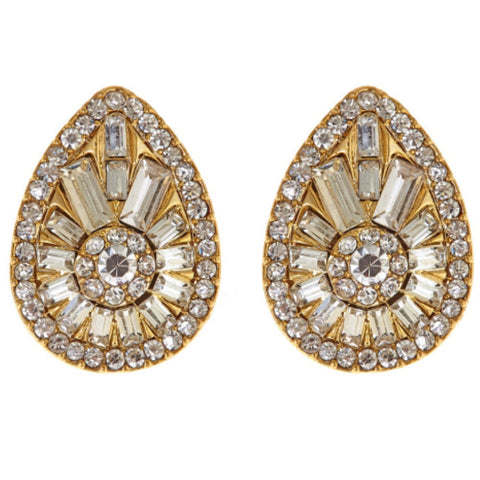 Vegas Earrings - Gold