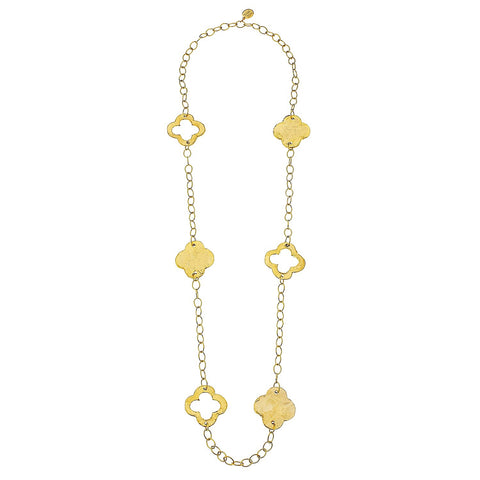 Clover Necklace - Gold