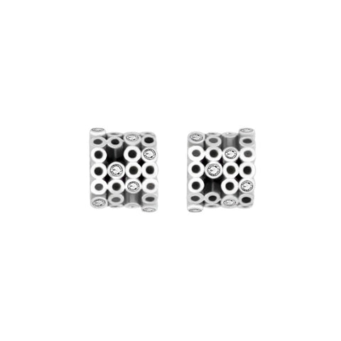 Earring Silver Tube Mater Jewellery Tales shop online at by-PT