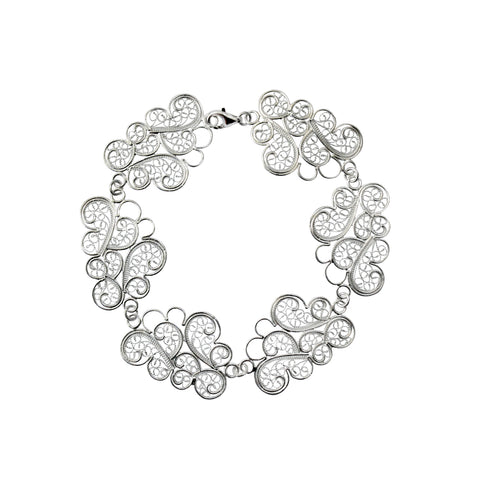 Clouds Bracelet Silver by Susana Teixeira Jewelry at by PT online store, Portuguese jewelry handmade