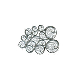 Clouds Brooch Silver by Susana Teixeira Jewelry at by PT online store Portuguese jewelry handmade small size