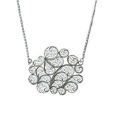 Clouds Necklace Silver by Susana Teixeira Jewelry at by PT online store, Portuguese jewelry handmade