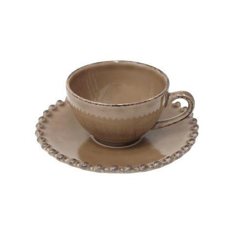 Shop Online Coffee Cup & Saucer Pearl by Costa Nova at by-PT.com
