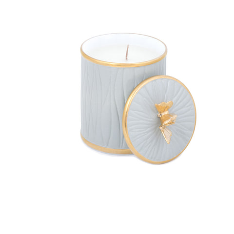 Shop Online luxury candles with unique design, decorative candle, Dacha Concept, Cedalon and Gold, Papillon Candle, Le Jardin Collection